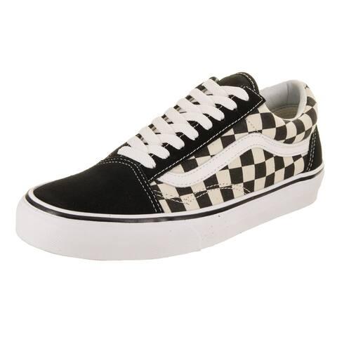 9f14599fe7e8c0 Vans Unisex Old Skool (Primary Check) Skate Shoe