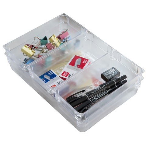 Clear Plastic Drawer Organizers