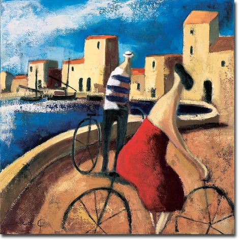 Encuentro (Meeting) by Didier Lourenco Gallery Wrapped Canvas Giclee Art