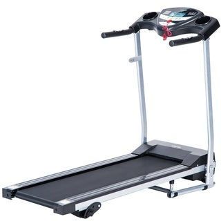 Merax Easy Assembly Folding Electric Treadmill Motorized Running Machine - Black
