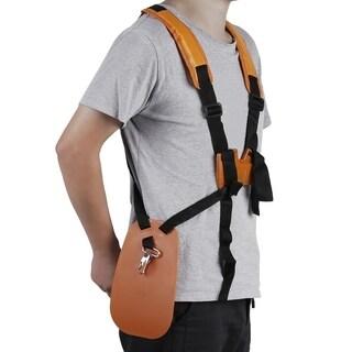 Brush Cutter Harness Belt Double Shoulder Harness Durable Lawn Mower Strap