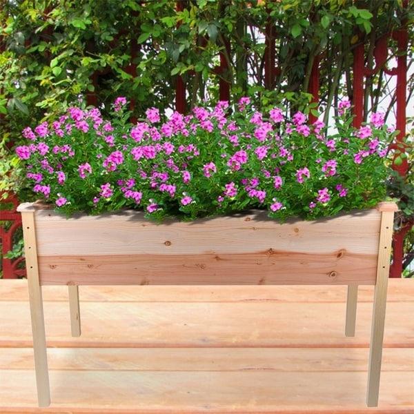 Shop Elevated Flowerpot Vegetable Bed Garden Box Bed