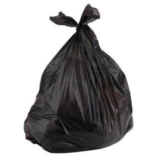 80pcs 33 Gallon Indoor Outdoor Can Heavy Garbage Rubbish Bag Trash Bag Set