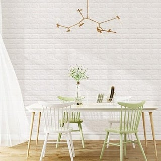 5 PCS 3D Wallpaper Stone Brick Wall Background Fashion 70x30CM Wall Paper