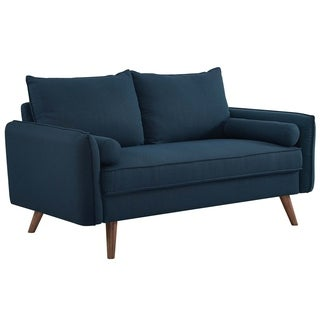 Revive Upholstered Fabric Loveseat - N/A