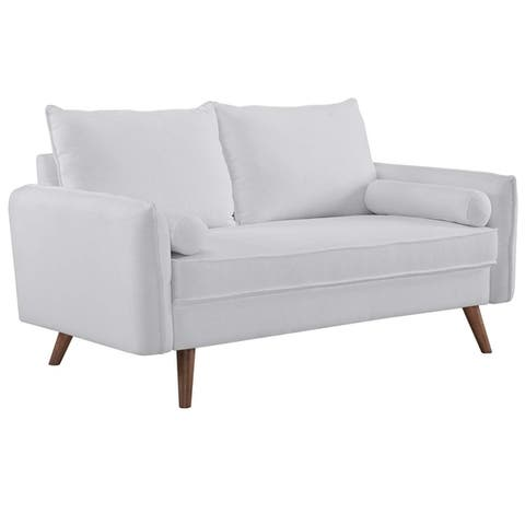 Carson Carrington Hedeby Upholstered Fabric Loveseat