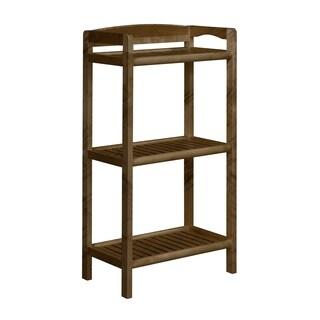 NewRidge Home Abingdon Solid Wood Bookcase, Bookshelf