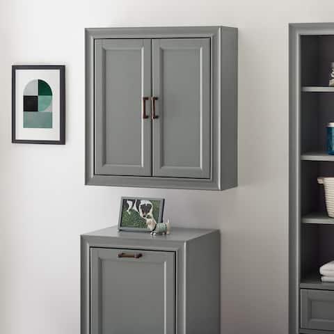Tara Wall Cabinet In Vintage Grey - N/A