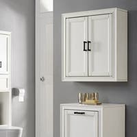 Tara Wall Cabinet In Vintage White