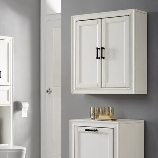 Tara Wall Cabinet In Vintage White - N/A