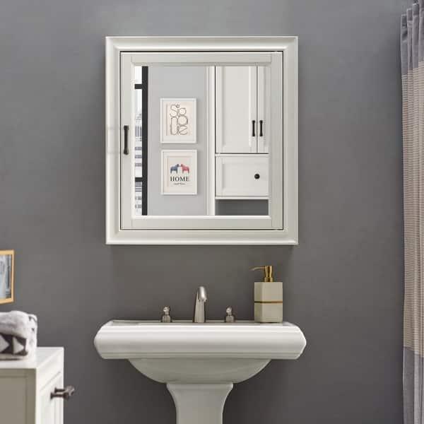 Tara Bath Mirror Cabinet In