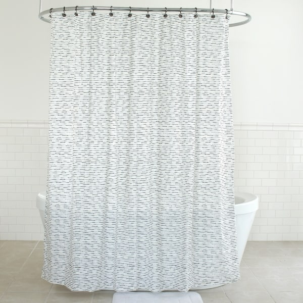 Splash Home Ayo Polyester Fabric Shower Curtain 70 X 72