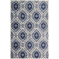 Paisley Home Off-White (5'x8') Rug - 5' x 8'