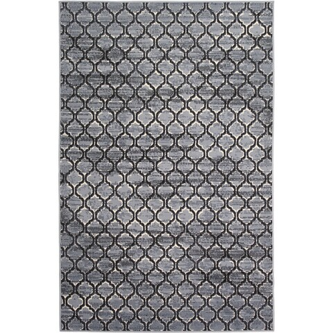 Briella Home Grey (5'x8') Rug - 5' x 8'