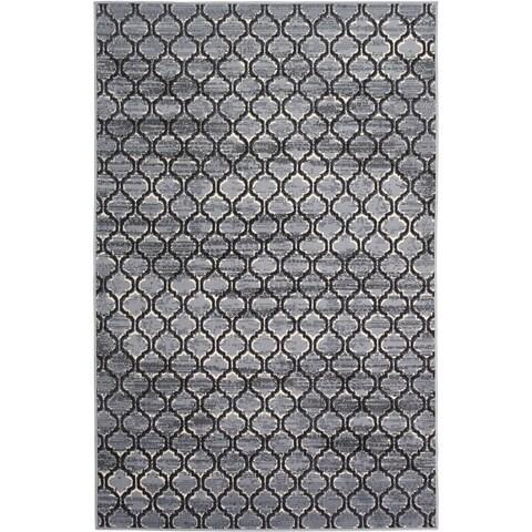 Briella Home Grey (5'x8') Rug - 5' x 8'
