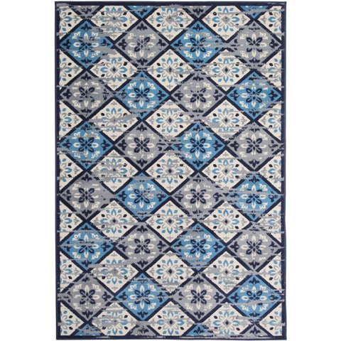 Harper Home Grey (5'x8') Rug - 5' x 8'