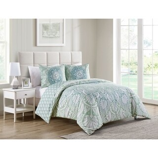 VCNY Home Tory Reversible Duvet Cover Set