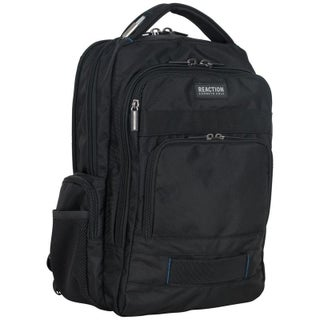 Kenneth Cole Reaction Triple Compartment Multi-Pocket 17-inch Laptop Business Backpack With Anti-Theft RFID