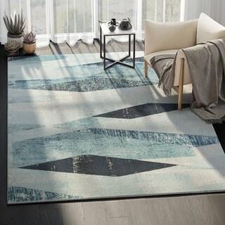 Laguna Abstract Modern Indoor Rug