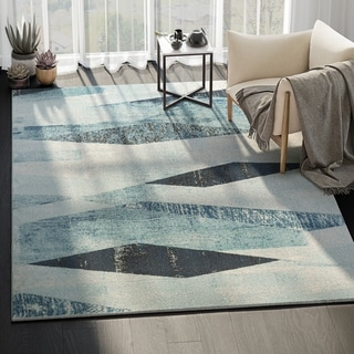 Laguna Abstract Modern Indoor Rug