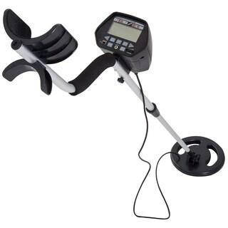 "Outsunny 2 Mode LCD Adjustable Water Resistant Handheld Digital Metal Detector - Black - 40-49.5"""
