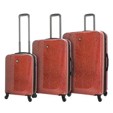 Mia Toro ITALY Caglio 3-piece Hardside Spinner Luggage Set