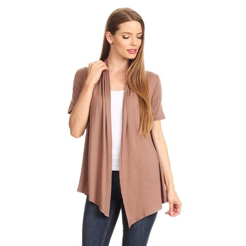 Women's Casual Basic Solid Loose Fit Cardigan