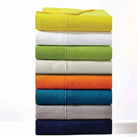 Amrapur Overseas 1800 Series 100 GSM 4-Piece Solid Microfiber Sheet Set