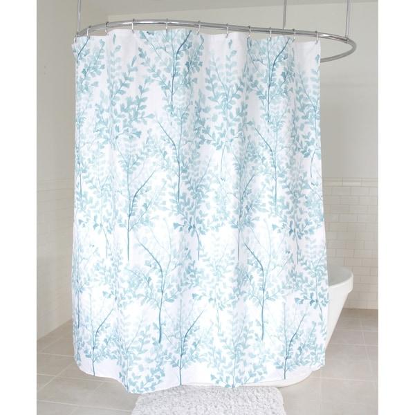 Splash Home Yin Polyester Fabric Shower Curtain 70 X 72