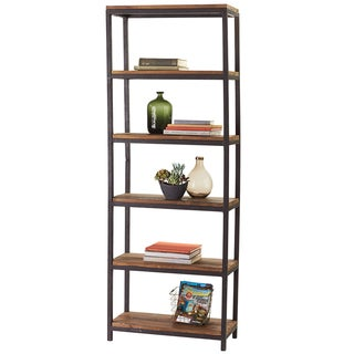 Mission Bay Tall 5 Level Shelf Distressed Natural