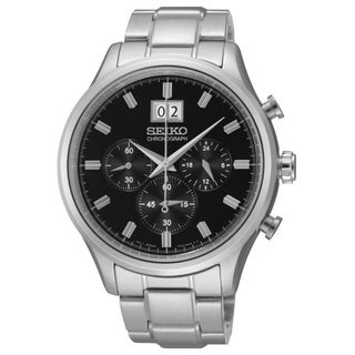 Link to Seiko Men's SPC083 Chronograph Stainless Steel Watch Similar Items in Men's Watches