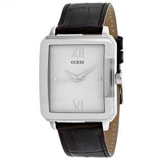 Guess Men's W0918G1 'Classic' Brown Leather Watch
