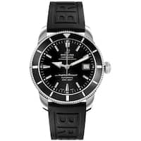 Breitling Men's A1732124-BA61-152S 'Superocean Heritage 42' Automatic Black Rubber Watch