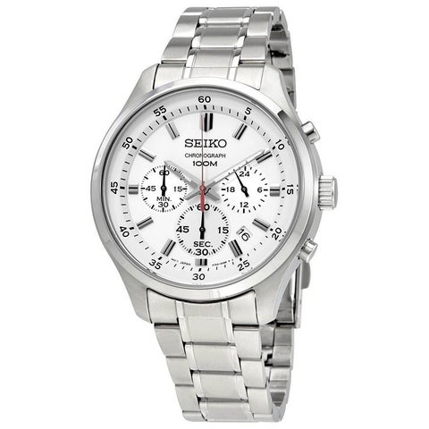 Seiko Men's SKS583 Chronograph Stainless Steel Watch