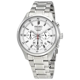 Seiko Men's SKS583 Chronograph Stainless Steel Watch