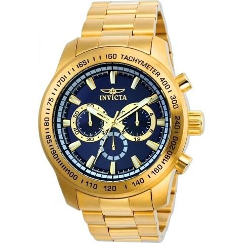 Invicta Men's 21797 'Speedway' Gold-Tone Stainless Steel Watch