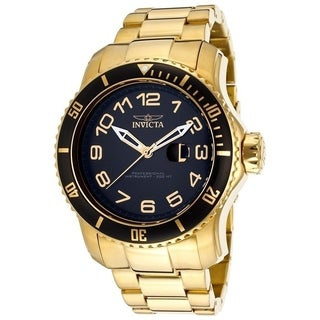 Invicta Men's 15346 'Pro Diver' Gold-Tone Stainless Steel Watch