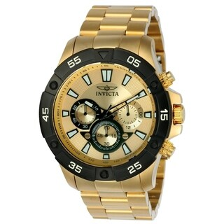 Invicta Men's 22789 'Pro Diver' Gold-Tone Stainless Steel Watch