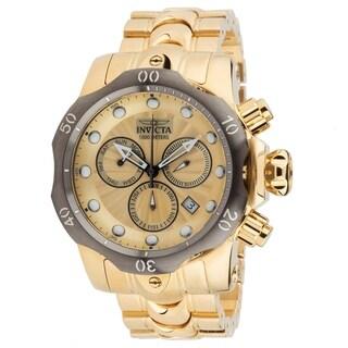 Invicta Men's 23894 'Venom' Gold-Tone Stainless Steel Watch