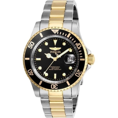 Invicta Men's 26973 'Pro Diver' Gold-Tone and Silver Stainless Steel Watch