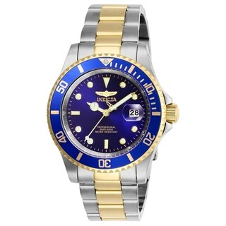 Invicta Men's 26972 'Pro Diver' Gold-Tone and Silver Stainless Steel Watch