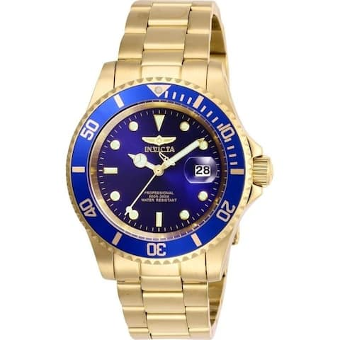Invicta Men's 26974 'Pro Diver' Gold-Tone Stainless Steel Watch