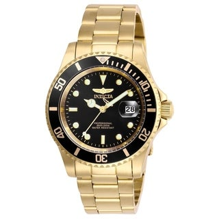 Invicta Men's 26975 'Pro Diver' Gold-Tone Stainless Steel Watch