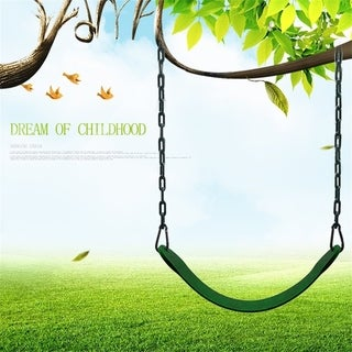 Heavy Duty Green U Shape Seat Belt Chain Swing Hanging Swing Seat Belt