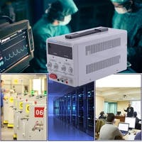 10A 30V DC Power Supply Adjustable Dual Digital Variable Precision US Plug - WHITE
