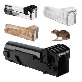 Humane Mouse Trap Reusable Rat Cage Catcher Durable Rodent Cage Mice Live Trap