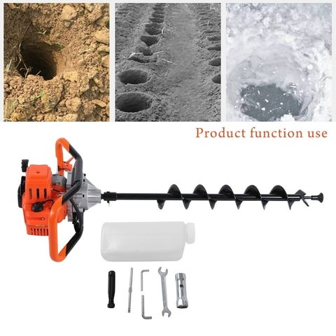 520 Hole Diggers Borer Fence Professional Ground Drill Planting Machine