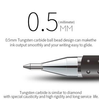 TS-009 12pcs/set Classic Gel Pen Learning Essential Stationery School Supplies