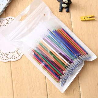 100 Colors/Set Environmentally Friendly Neutral Ink Ballpoint Gel Pen Refill