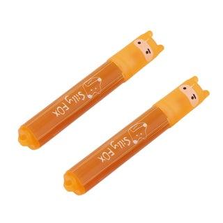 2 Piece Office Imaginative 6 Color Mini Highlighter Mark Pen Fluorescent Pen